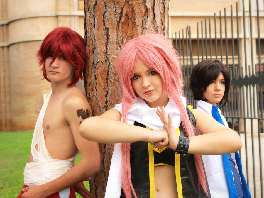 We are Fairy Tail! - FTGenderbender by NamiWalker