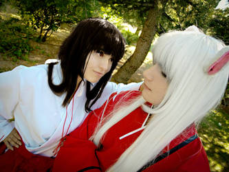 Just a little smile - InuYasha