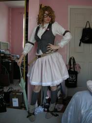 Steampunk Lolita attempt 1 by Taicho