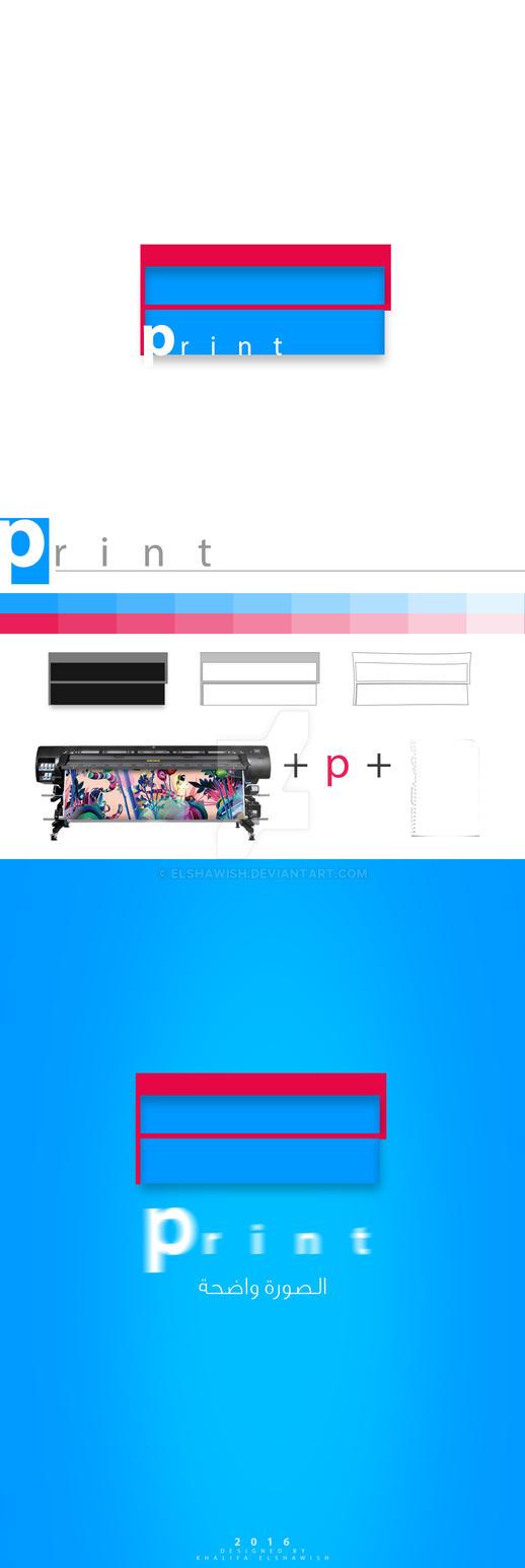 logo - print by elshawish