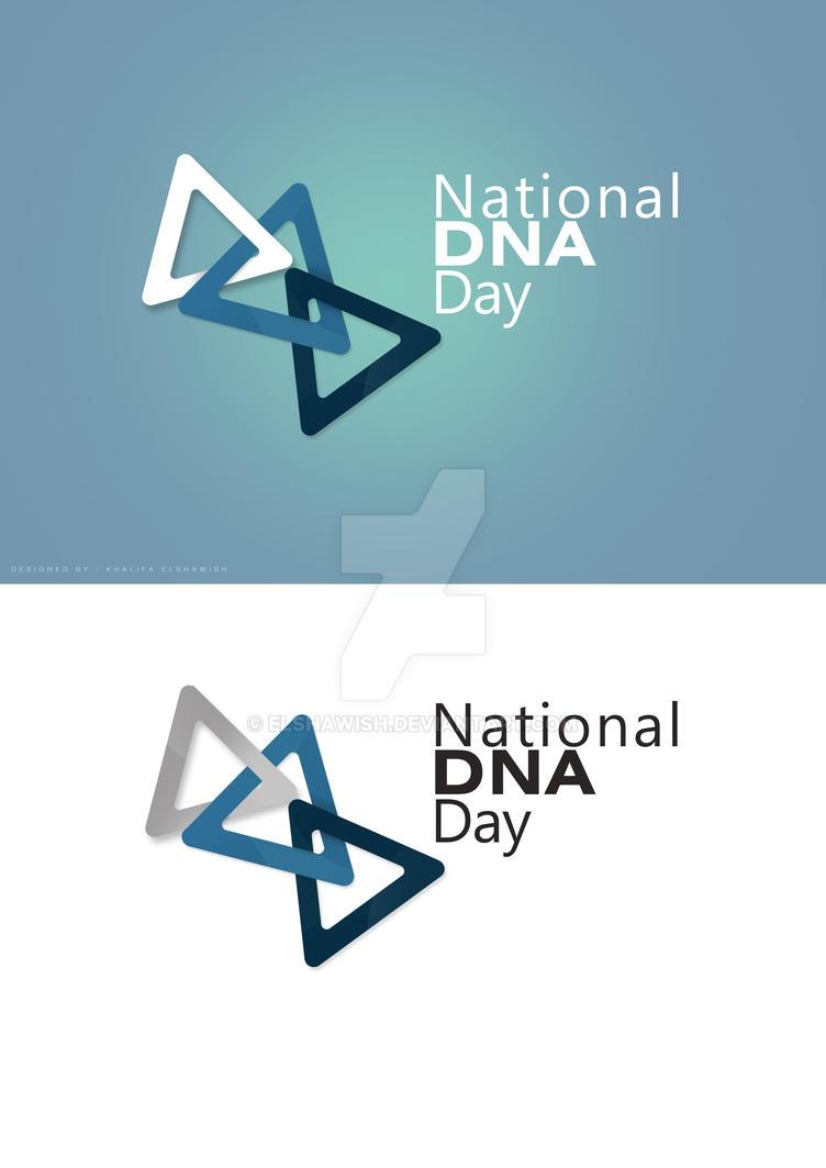 logo  DNA by elshawish