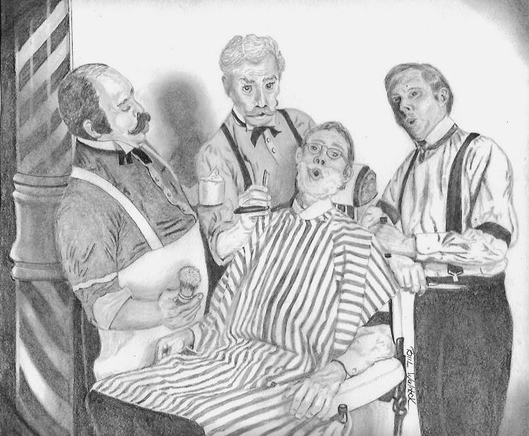 Barbershop Quartet by BWald1
