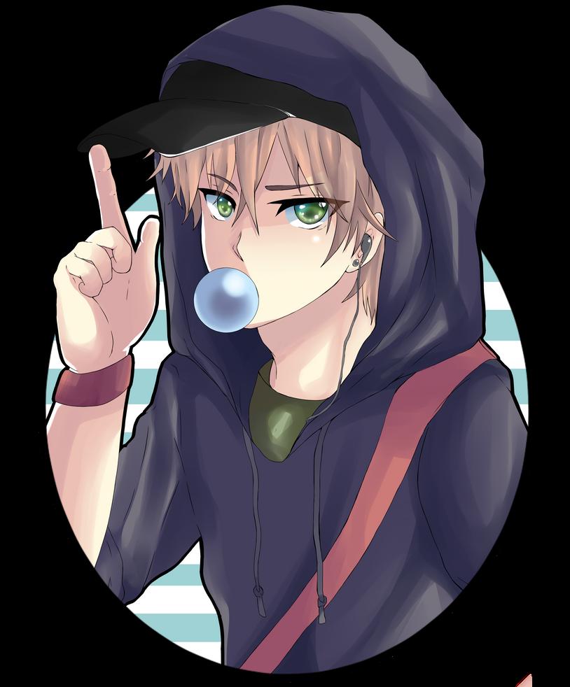 Anime Boy By Ksetsuni