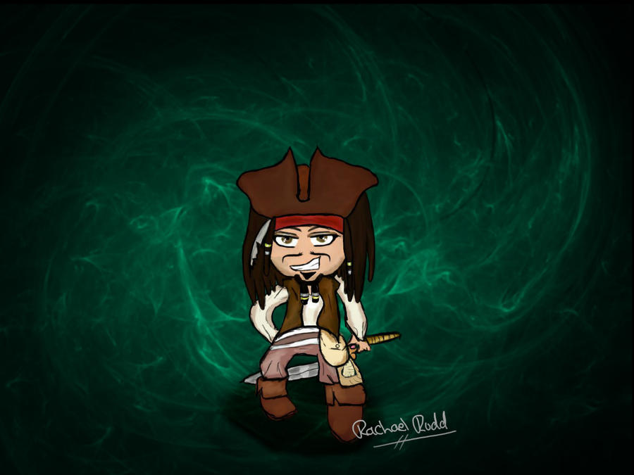 Pirates of the Caribbean - Captain Jack Sparrow by ily4ever95