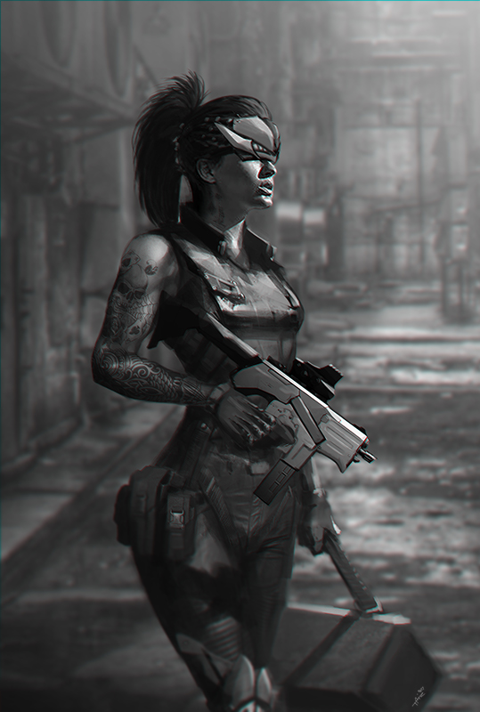Smuggler Gal by ARTTAiR