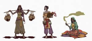 DesertEL Castes by ARTTAiR