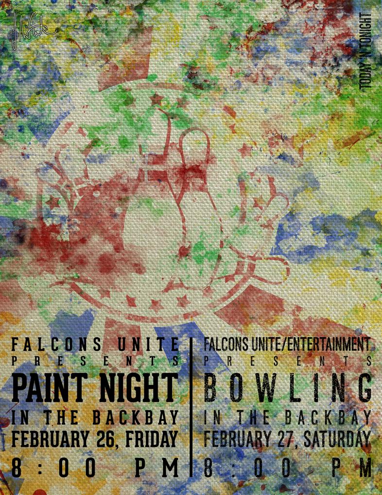 Paint Night by Elaichee