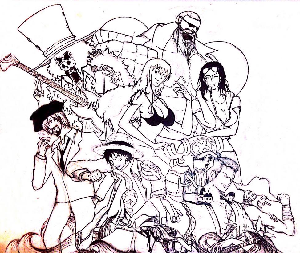 One Piece by Elaichee
