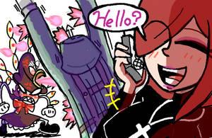 Hello? by Kuraibe-Keishi