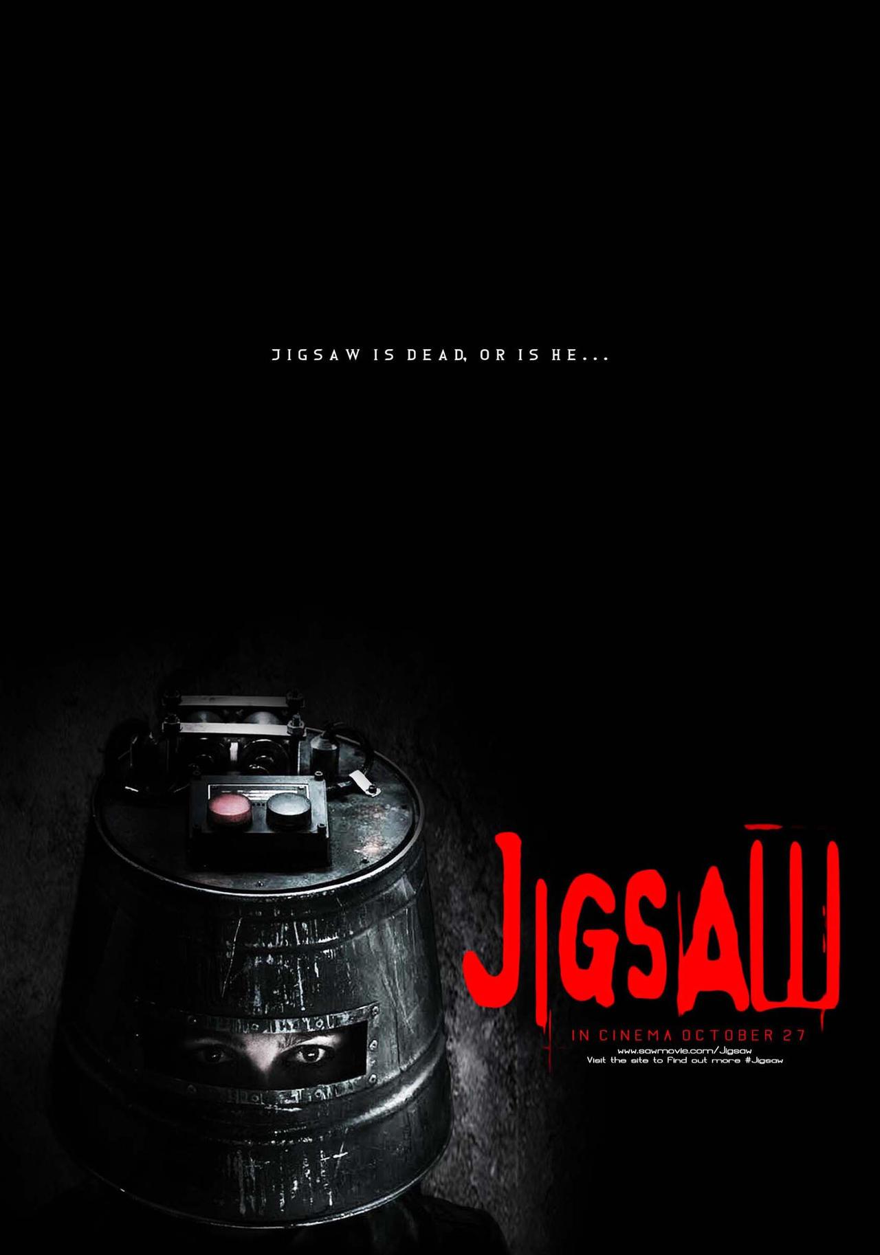 Jigsaw Movie Poster by lukeh01 on DeviantArt