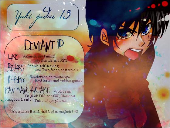YukiJudai13's Profile Picture