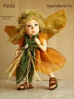 Hella fairy art doll - poseable art doll by LegendLand