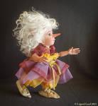Bianka elf art doll - poseable art doll