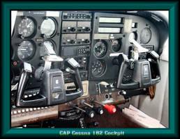 CAP Cessna 182 Cockpit