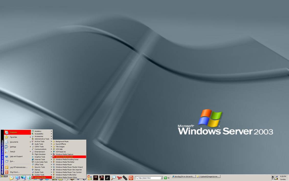 Windows Server 2003 by slowdog294 on DeviantArt