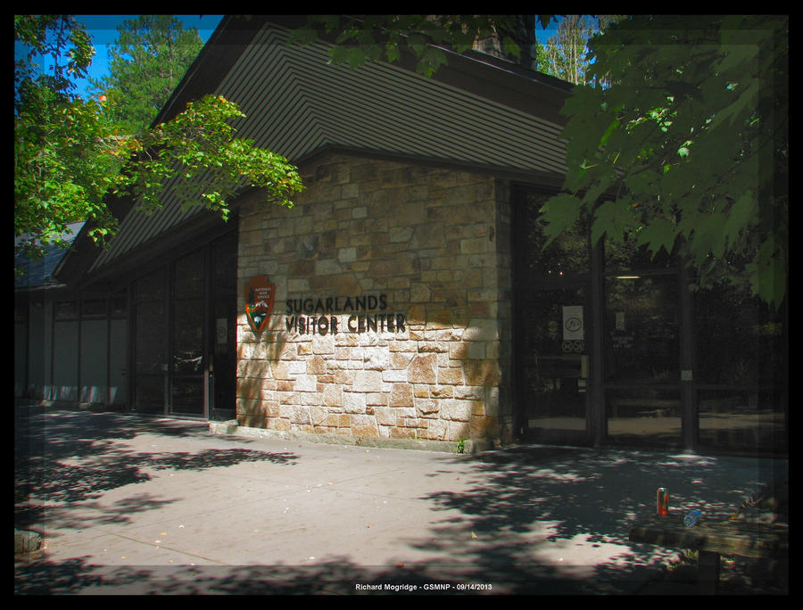 Sugarlands Visitor Center Entrance by slowdog294