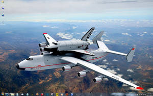 Soviet Space Shuttle Buran on Transport by slowdog294