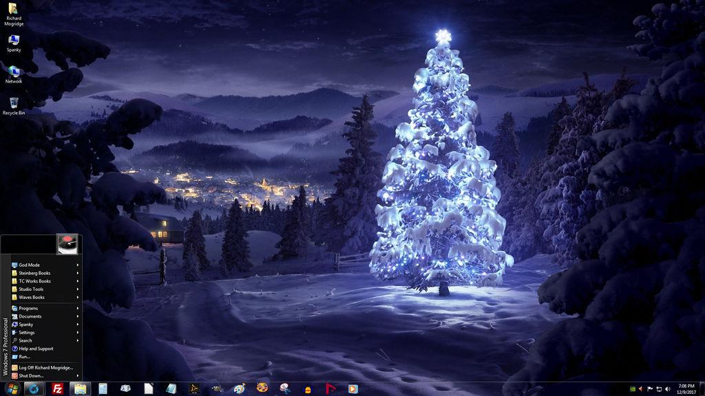 Широкоформатные Обои Рождество На Рабочий Стол