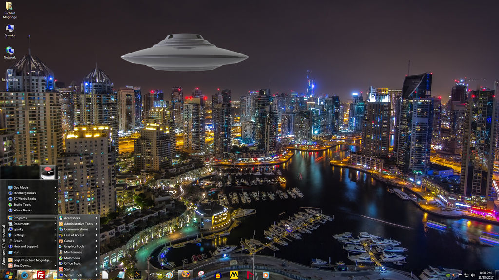 Windows 7 on Spanky - Great Cities - Dubai 1 by slowdog294