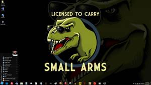 Windows 7 on Spanky - Tiny Weapons