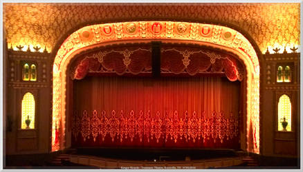 Tennessee Theatre Stage and Prosinium Arch