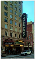 Tennessee Theatre Box Office and Facade