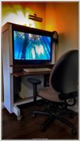 Buster's New Desk