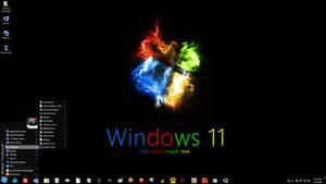 Windows 7 on Spanky - Old School Made New