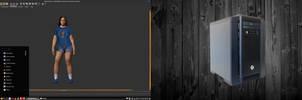 Linux Mint on Spanky - Make Human 1