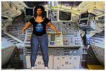 Pati Soto Test Pose - Space Woman