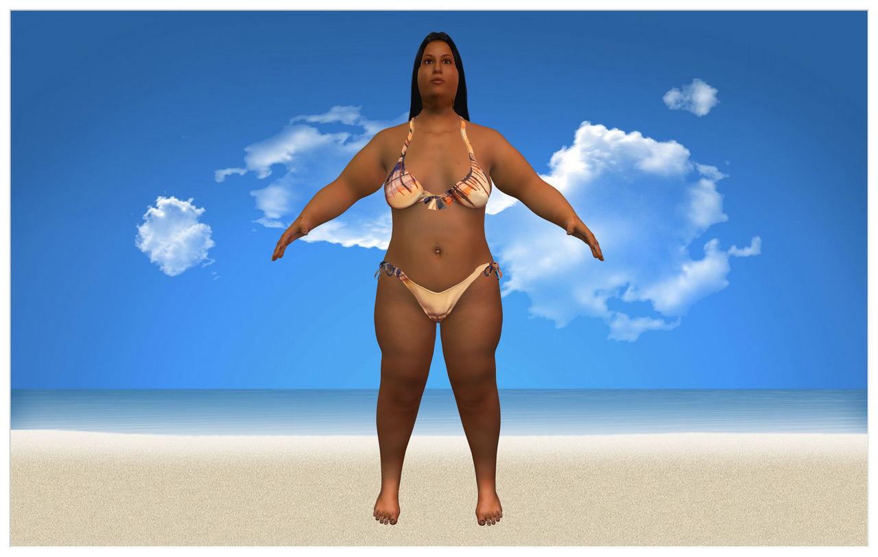 BBW Bikini Shot 1