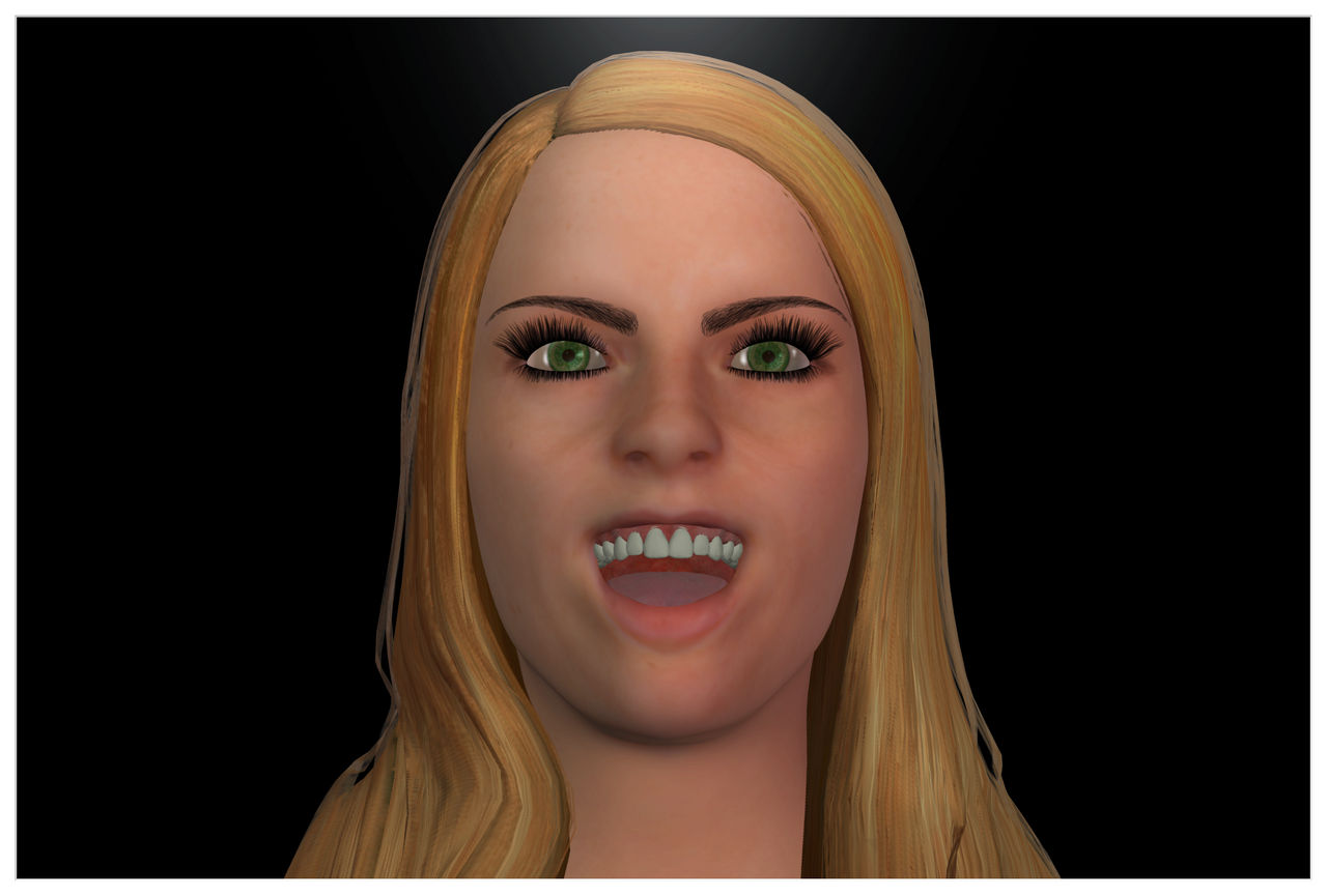 Margo Laughing 1