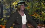 Ranger Annie in woods 1