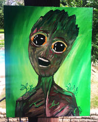 I am Groot! by hisel13