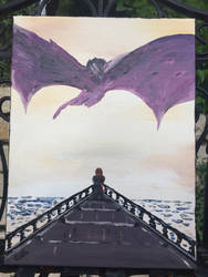 Tyrion meets Drogon  by hisel13