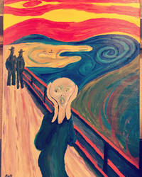 The Scream by hisel13
