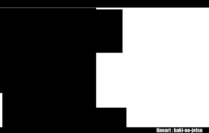 Monkey D Luffy Lineart By Haki No Jetsu On Deviantart