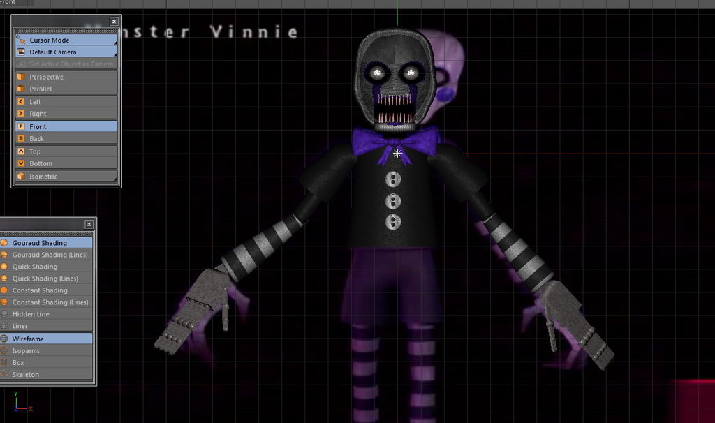 [Fnac 3]Monster Vinnie v.1 Wip 2 by The-Magician-Wolf on ...