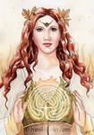 Labyrinth Goddess by NicoleCadet
