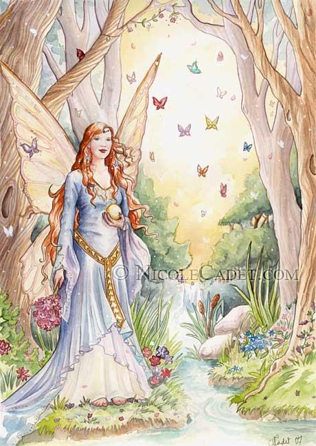 Woodland Magic by NicoleCadet