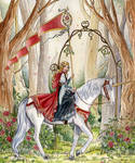 Rose Unicorn by NicoleCadet