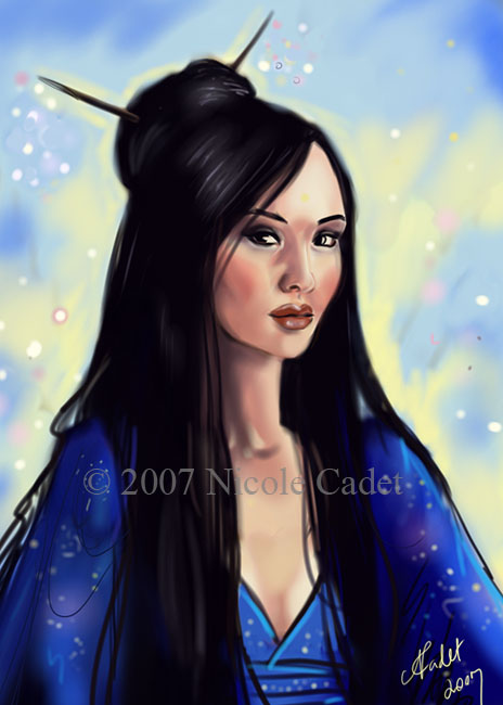 Asian Girl 2 by NicoleCadet