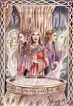 The Cauldron Coloured