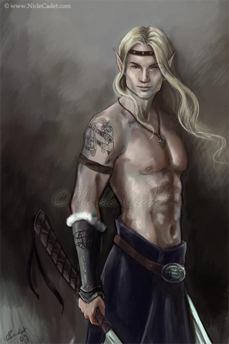 Silver Dragon Sidhe by NicoleCadet