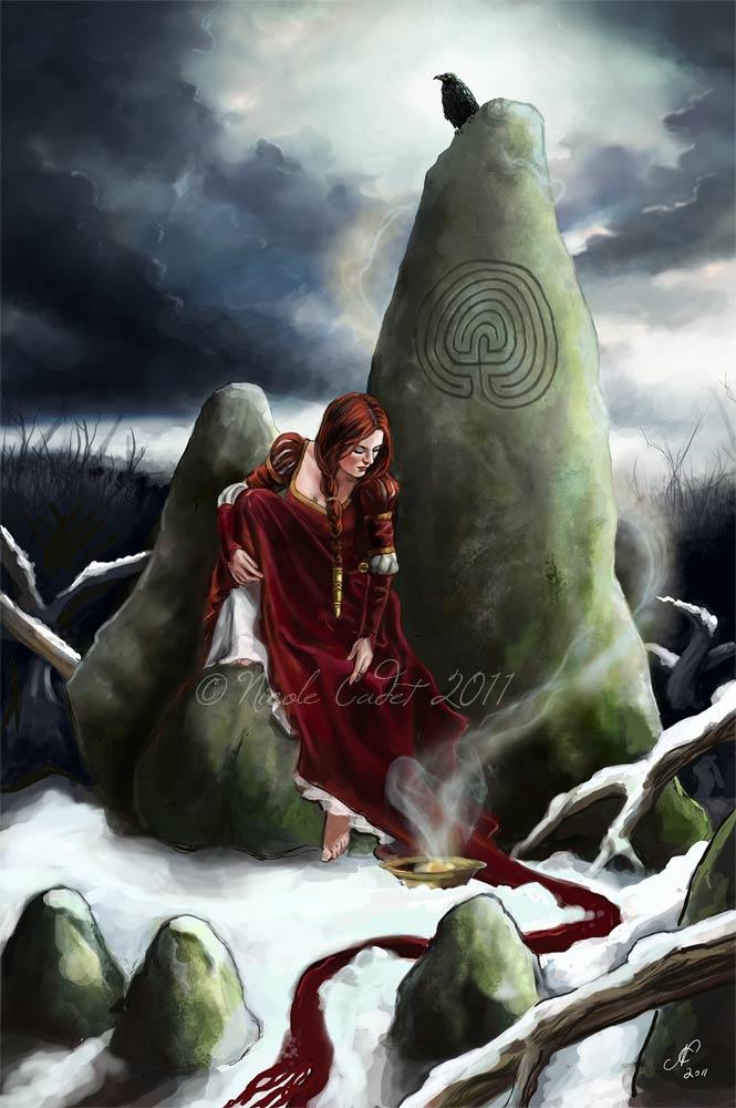 Stone Singer by NicoleCadet