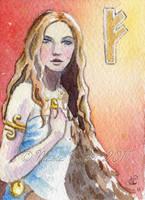 Freya ACEO by NicoleCadet