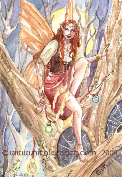 Tree Gypsy by NicoleCadet