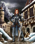 Kira Dragon Warrior commission