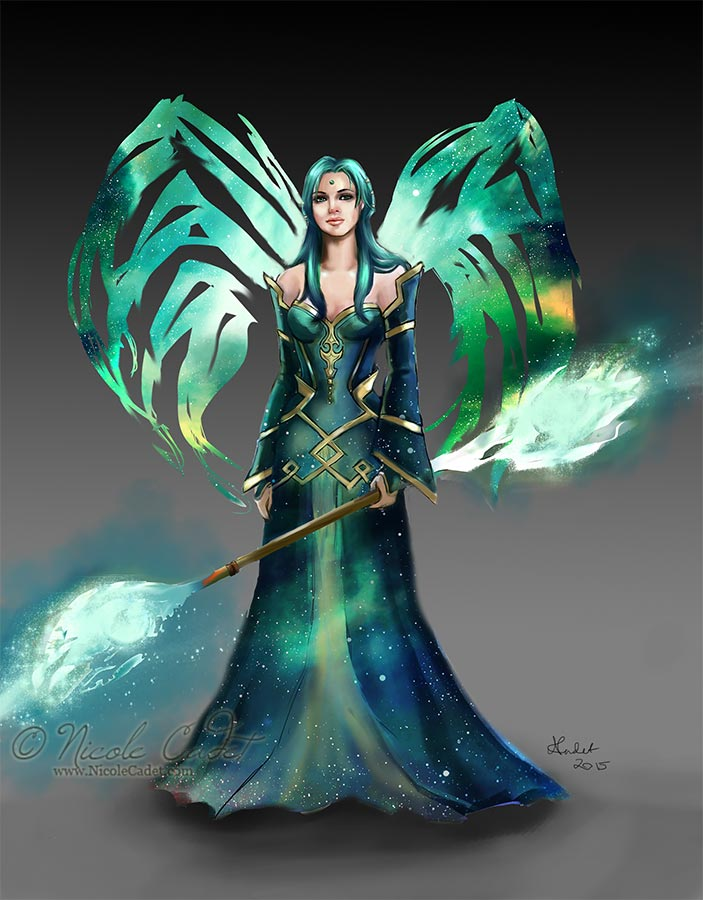 Star Sorceress by NicoleCadet
