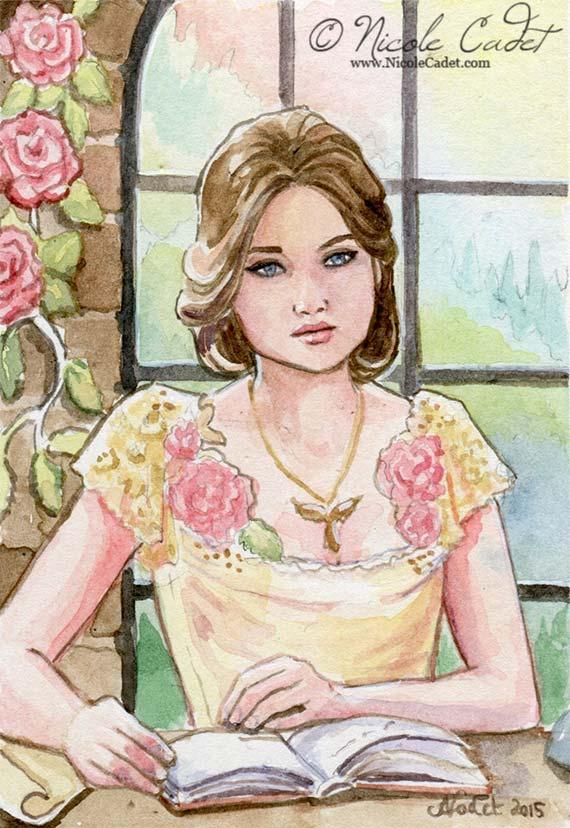 Tessa Gray by NicoleCadet